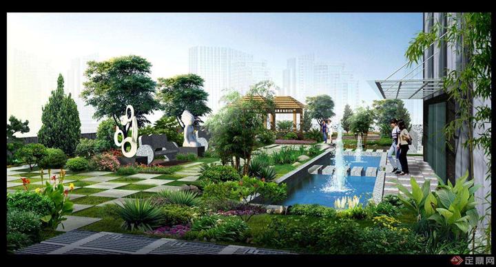 屋顶绿化|立体绿化