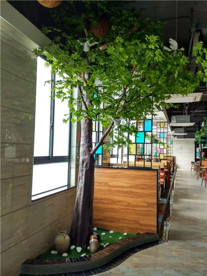 东莞仿真植物厂家-假花植物墙