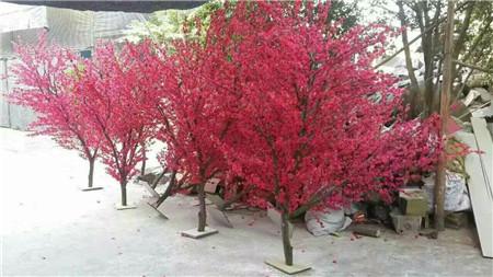 凉山仿真桃树-无锡仿真桃树