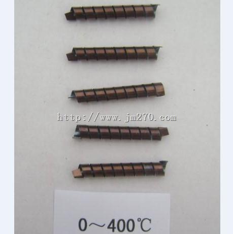 0~400℃双金属元件