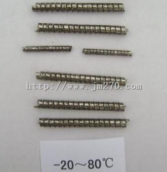 -20~80℃双金属元件