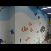 大同学校墙绘公司