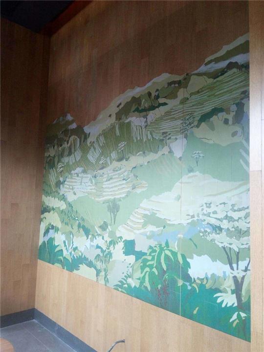 大同工装墙绘
