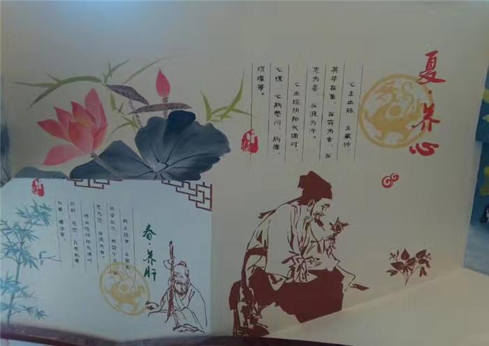 大同工装墙绘展览