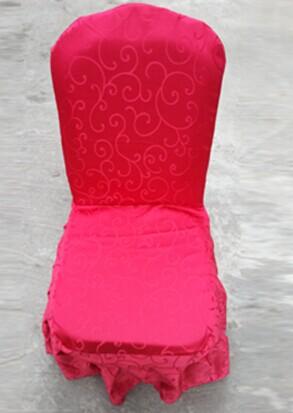 宴会椅套红色