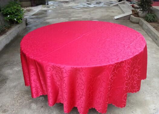 宴会桌椅大红