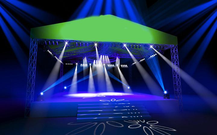 灯光音响舞台效果