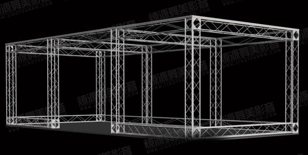 桁架搭建效果图