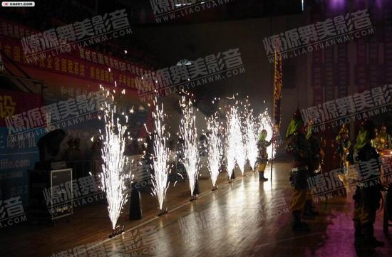舞台特效冷焰火
