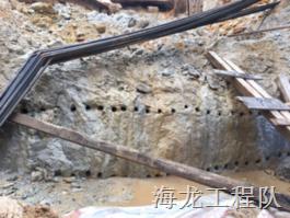 深圳罗湖国际高速路工地