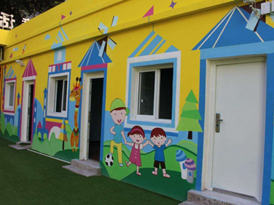 西安幼兒園墻繪