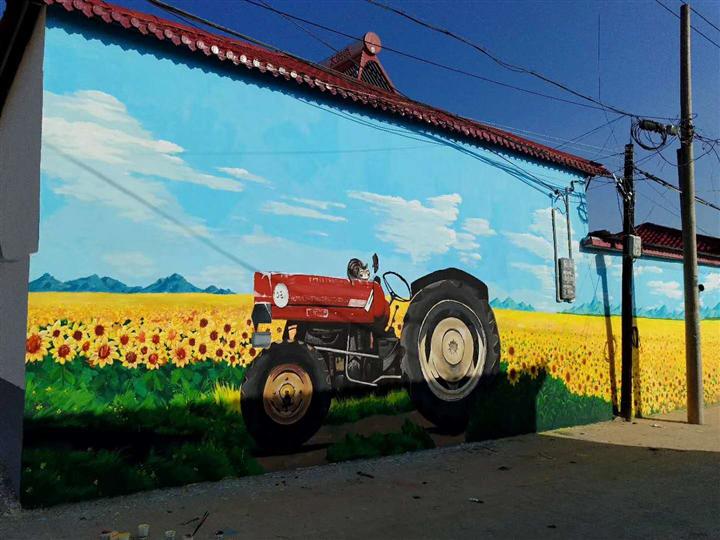 西安農村文化墻