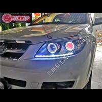 【兰州车工场】比亚迪S6升级海拉五透镜天使眼泪眼